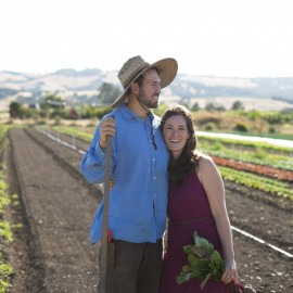 "Saying ""I do"" to organic farming: A vow of poverty?"
